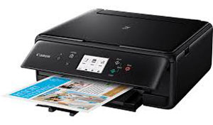 2229C008 - Canon PIXMA TS6150 Inkjet Photo Printer - Wi-Fi - Black * Free Delivery *