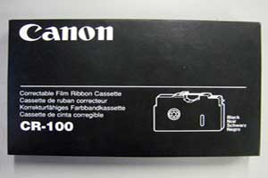 CR100 - Canon CR-100 Ribbons Box of 6 - NO LONGER AVAILABLE