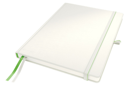4472-00-01 - Leitz Complete Notebook - A4 Ruled with Hard Cover - White
