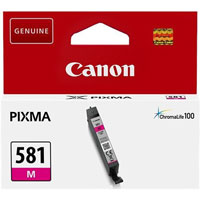 2104C001 - Genuine Canon CLI-581M Magenta Ink Tank - Standard Cartridge - 5.6ml