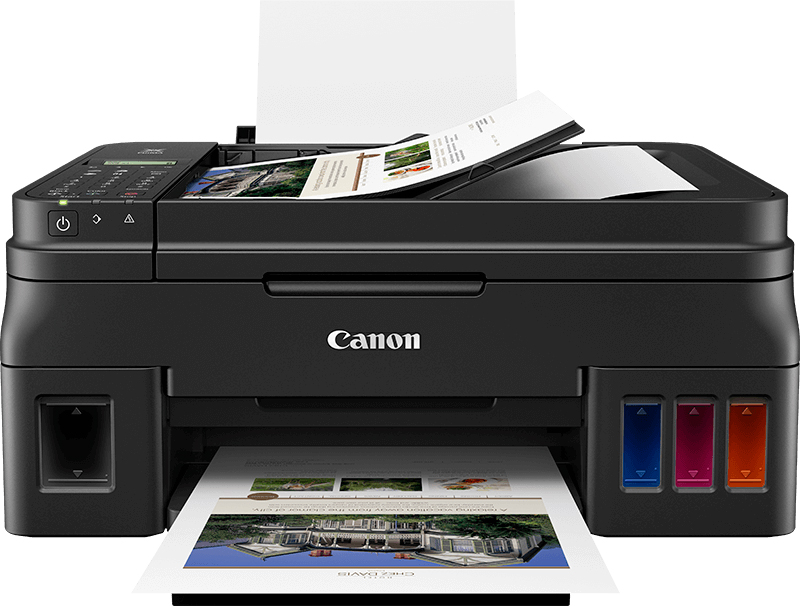 2316C024 - Canon G4511 Refillable Inkjet Multifunctional Printer with Fax - WiFi