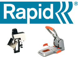 RAPID Staplers, Hole Punches & Consumables