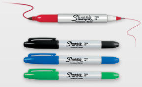 Sharpie Twin Tip Markers