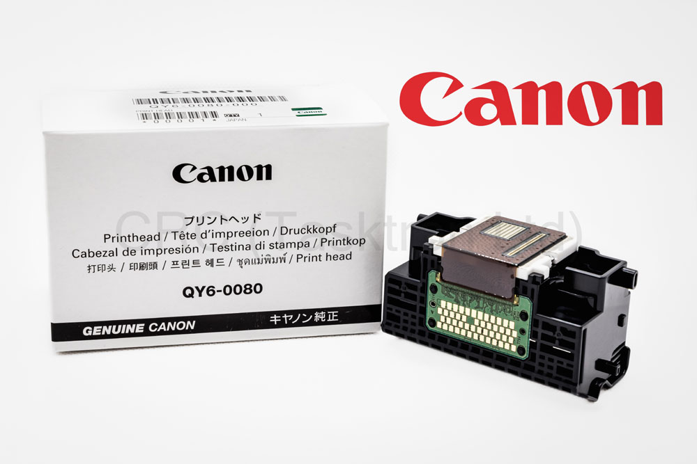 QY60080 - Genuine Canon Print Head QY6-0080-000 for iP4850, iP4950, MG5250, MG5350, MX895, MX885 & iX6550