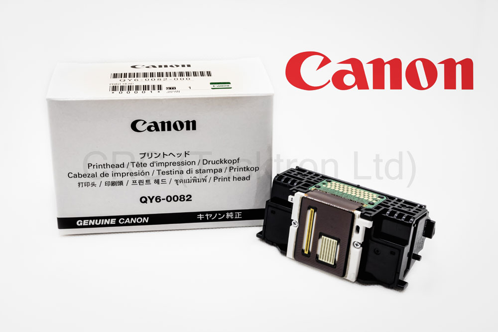 QY60082 - Genuine Canon Print Head QY6-0082-000 for iP7250, MG5450, MG5550, MG5650, MG5750, MG6450, MG6650