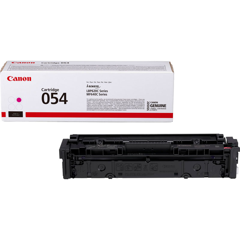 3022C002 - Canon 054 Magenta Toner Cartridge - 1,200 Pages