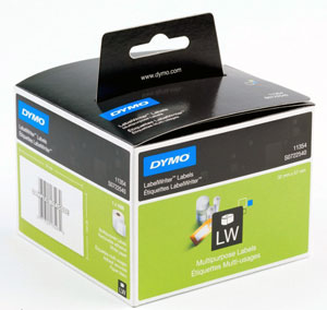 S0722540 - Dymo 11354 Label Writer Labels, Multi Purpose - Removable Adhesive