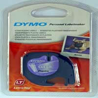 S0721530 - Dymo LetraTAG Clear Tape - (legacy code 12267)