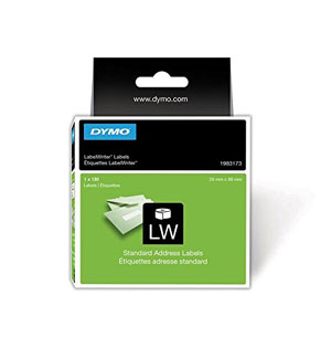 1983173 - Dymo 1983173 LabelWriter Address Labels, 28 x 89mm - 1 Roll of 130 Labels