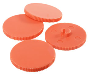 23001000 - 10 X Replacement Punching Discs for Rapid Supreme Heavy Duty 4 Hole Punch 23223100