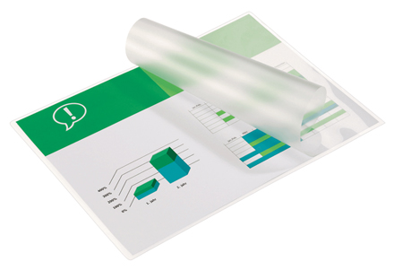 3740400 - GBC A4 Document Laminating Pouches 2 x 75 micron (150 micron) Pack of 100
