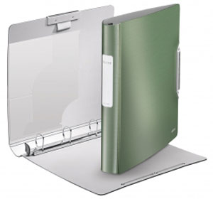 4245-00-53 - Leitz Active Style SoftClick Ring Binder - Celadon Green (Pack of 5)
