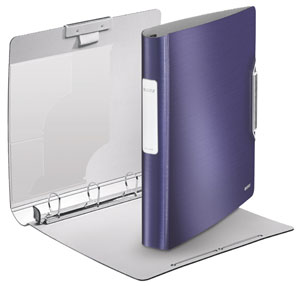 4245-00-69 - Leitz Active Style SoftClick Ring Binder - Titan Blue (Pack of 5)