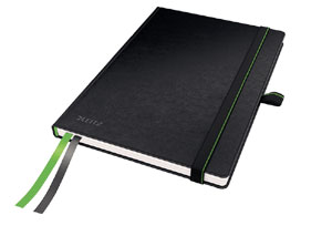 4478-00-95 - Leitz Complete Notebook - A5 Ruled with Hard Cover - Black