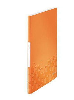 46320044 - Leitz WOW 40 Pocket Display Book in Burnt Orange - Discontinued by ACCO