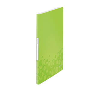 46310064 - Leitz WOW 20 Pocket Display Book in Lime Green - Discontinued by ACCO