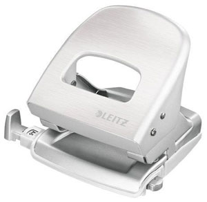 50060004 - Leitz NeXXt Series Style Office Hole Punch, Designer Hole Punch 30 Sheet Capacity - Artic White