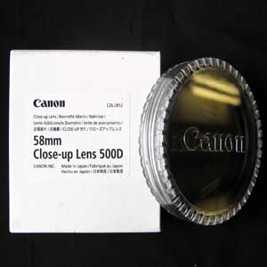 500D - Canon 58mm Close-up Lens 500D
