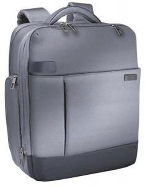 "6017-00-84 - Leitz Complete Smart Traveller 15.6"" Backpack with Airport Trolley Fixing & Shoulder Belt - Silver"