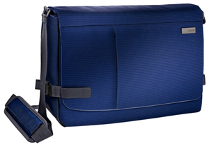"60190069 - Leitz Complete 15.6"" Smart Traveller Messenger Case, ideal for mobile devices & A4 documents - Tital"