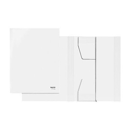 6106-00-00 - Infinity A4 3 Flap Archive Folder White - Discontinued by Leitz/ACCO