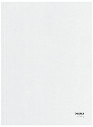 6107-00-00 - Infinity A4 Archive Insert Folder White - Discontinued by Leitz/ACCO
