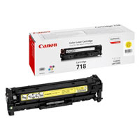 2659B002 - Canon 718 Yellow Toner Cartridge  2.9K copies