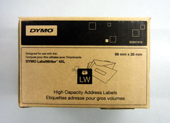 S0947410 - S0947410 High Capacity Address Labels for the DYMO 4XL only