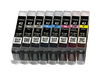 6384B010 - Canon CLI-42 All 8 Ink Tanks for Canon PRO-100