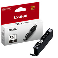 6443B001 - Canon Cli-551BK XL High Capacity Black Ink Tank for MG7150, MG5450, MG6350, iP7250 & MX925
