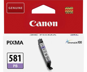 2107C001 - Genuine Canon CLI-581PB Photo Blue Ink Tank - Standard Cartridge - 5.6ml