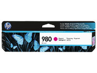 D8J08A - Genuine Magenta HP 980 Ink Cartridge - D8J08A, 6,600  Copies