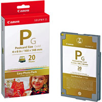 EP20G - Canon Easy Photo Pack E-P20G Gold Ink/Paper Set