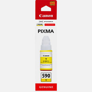 1606C001 - Genuine Canon GI-590 Yellow Ink Bottle for your Canon PIXMA G-series printer - 70ml