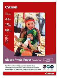 "GP501A4 - Canon GP-501 Glossy Photo Paper ""Everyday Use"" Pack of 100"
