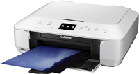 9539B028AA - Canon MG6650 Inkjet Multifunctional Printer - White - Discontinued by Canon