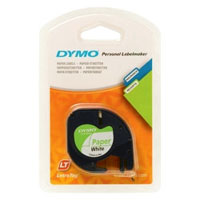 S0721510 - Dymo LetraTAG Paper Tape Pearl White - (legacy code 91200)