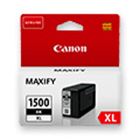 9182B001 - Genuine Canon PGI-1500XL BK Black Ink Tank