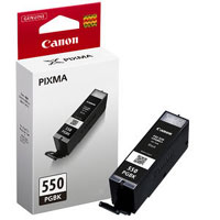 6496B001 - Canon PGi-550PGBK Pigmented Black Ink for MG7150, MG5450, MG6350, iP7250 & MX925