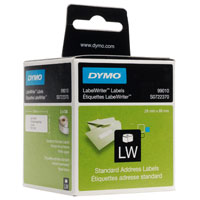 12S0722370 - 12 Boxes Dymo Standard White Address Labels - 99010. For ALL Dymo LabelWriters