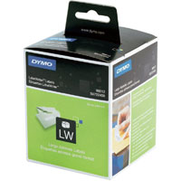12S0722400 - 12 Boxes of Dymo 99012 Large White Address Labels - AKA S0722400, 36 X 89mm