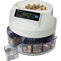 Safescan 1250 - Safescan 1250 GBP Automatic Coin Counter and Sorter - New £1 Coin Ready !!!