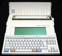 SW400 - Refurbished Canon Starwriter 400 BubbleJet Word Processor