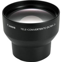 TCDC10 - Canon TC-DC10 Tele-converter lens for Powershot S60, S70 & S80 - 2x (200mm in 35mm format)