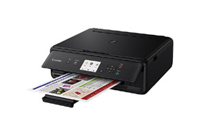 1367C008 - Canon PIXMA TS5050 Inkjet Photo Printer - Wi-Fi - Black