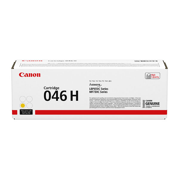 1251C002 - Canon 046H High Yield Yellow Toner Cartridge - 5,000 Pages