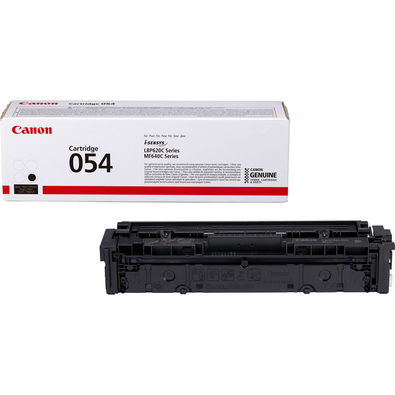 3024C002 - Canon 054 Black Toner Cartridge - 1,500 Pages