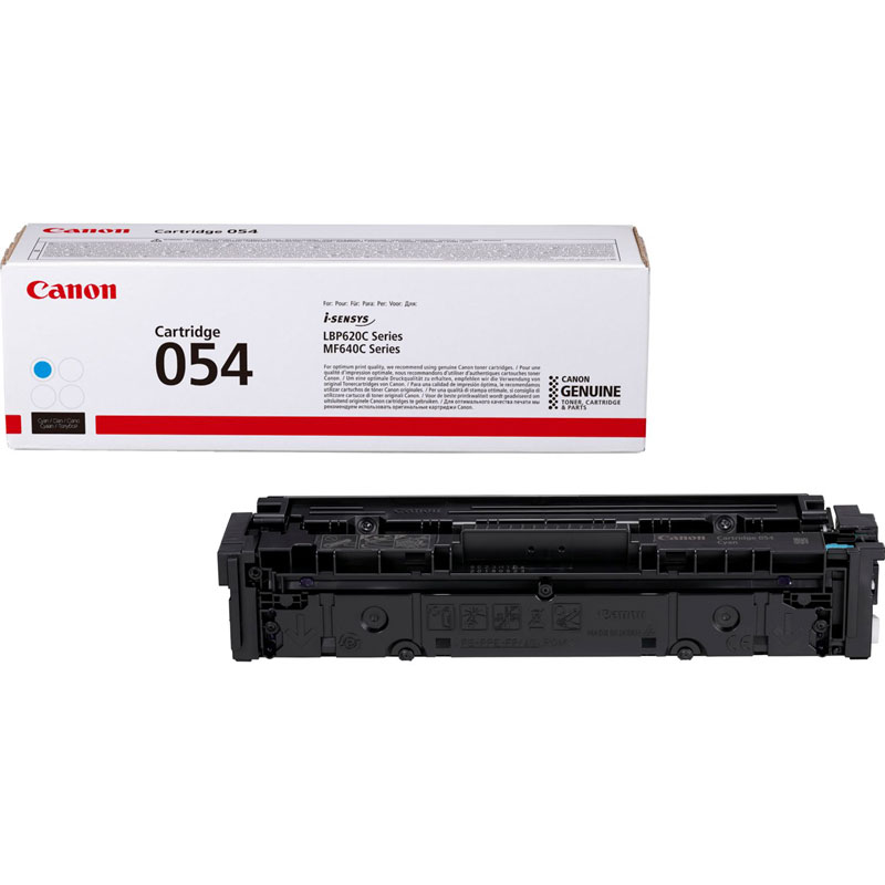 3023C002 - Canon 054 Cyan Toner Cartridge - 1,200 Pages