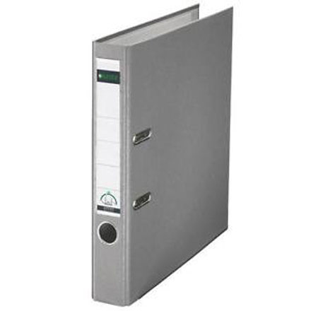 10151285 - Leitz 180° Plastic A4 Lever Arch File - Grey