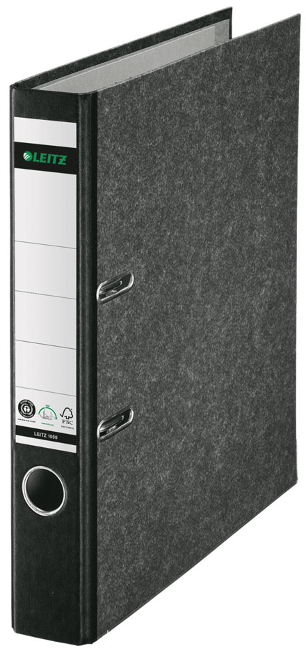 1050-10-95 - Leitz 180° Standard A4 Lever Arch File - Black, 350 sheet capacity
